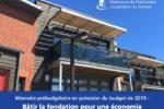 Dans son mémoire prébudgétaire, la FHCC demande 50 millions de dollars en terrains fédéraux pour bâtir des coopératives