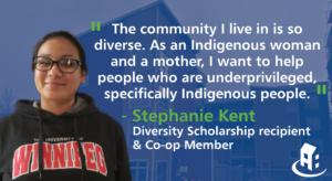 Stephanie Kent reçoit une bourse de la diversité