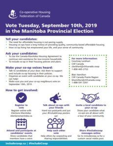 Soutenir les coopératives lors des élections provinciales au Manitoba