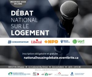 Débat national sur le logement, le 6 octobre