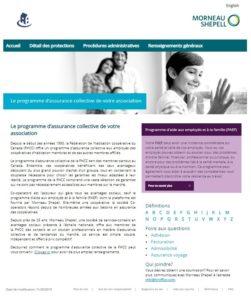 Votre régime d'avantages sociaux collectif– actualisation du site Web