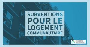 Lancement du Centre de transformation du logement communautaire – des millions de dollars en subventions seront distribués aux fournisseurs de logements (y compris aux coopératives d'habitation !)