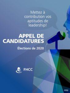 Appel de candidatures : Élections de 2020