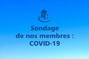 Sondage sur la COVID-19