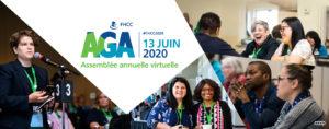 Avis de convocation officiel Ne manquez pas l'AGA virtuelle2020 de la FHCC