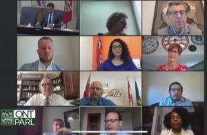 La FHCC fait une présentation au Comité de Queen's Park sur les répercussions de la COVID-19