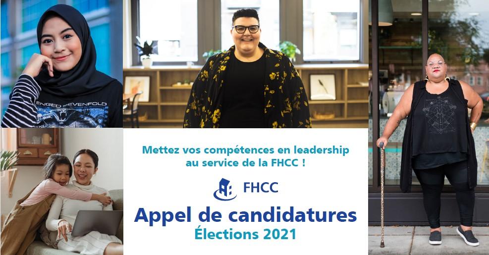 Élections 2021 – Appel de candidatures